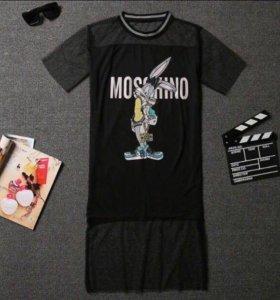 Новое платье туника чёрная Mischino