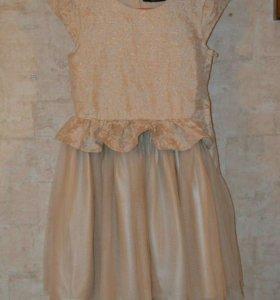 Шикарное платье на рост 135-140 см