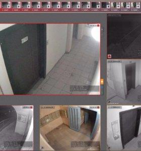 Видеонаблюдение в моногоквартирных домах