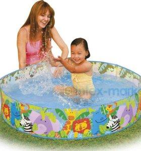 Детский бассейн с жесткими бортами
