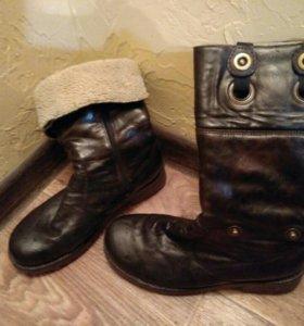 Ботинки зимние б/у