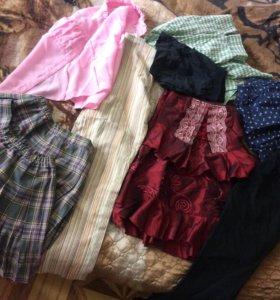 Бесплатно вещи для девочки размер 122-128