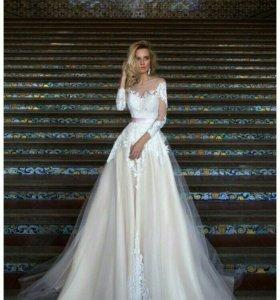 Свадебное платье от OKSANA MUKHA