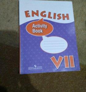 English activity book 7