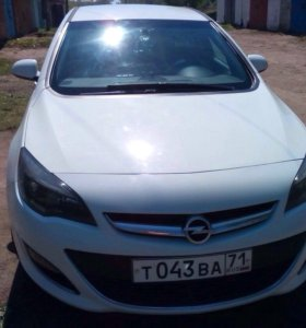 Opel Astra G 2013г. 1,6MT