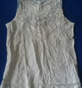 Блузка белая новая размер М