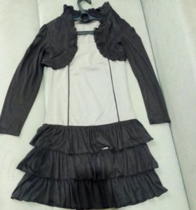 Платье с болерро