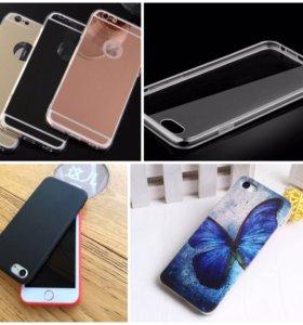 Чехлы новые на iphone 6/6s, 7