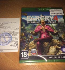 Диск для Xbox ONE с игрой Far Cry 4