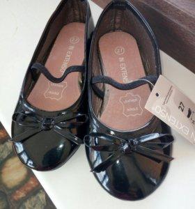 Туфельки новые 27 размер