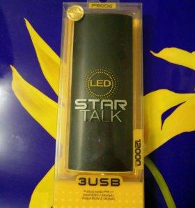 Внешний аккумулятор Remax Proda Star 12000 mAh