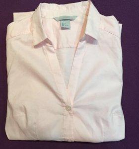 Рубашка приталеная H&m