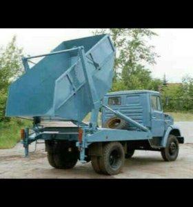 Вывоз строительных мусора