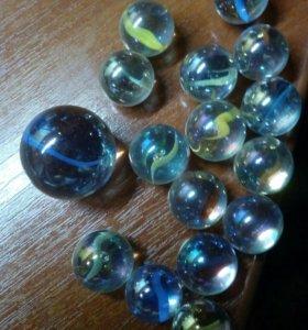 Стеклянные шарики (декоративные )