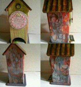 """Чайный домик """"Волшебные мечты"""" для пакетиков"""