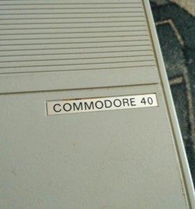 Печатная машинка commodore 40