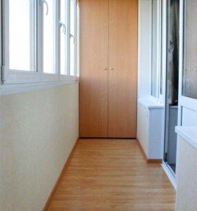 Окна ,Балконы, Внутр отделка