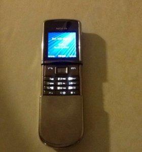 Nokia 8800 sirocco silver