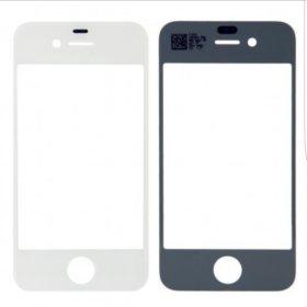 Стекло на Iphone 4s белое