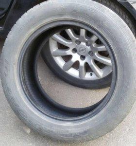 Комплект летних шин Dunlop 235/55 R17 SP Sport 01