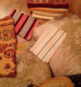 Постельные принадлежности,одеяло , плед, пододеяль