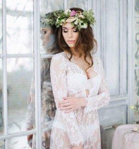 Будуарное платье утро невесты