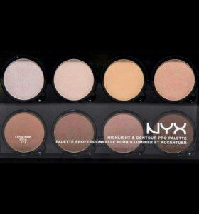 Палетка для контуринга Nyx Highlight & Contour Pro