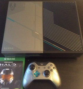 Xbox One Halo LE 1tb + Halo Collection