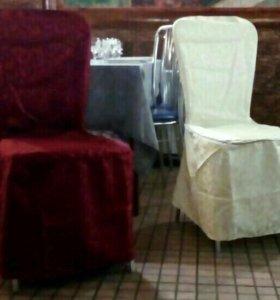 Чехлы для стульев новые