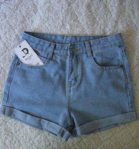 Абсолютно НОВЫЕ джинсовые шорты!