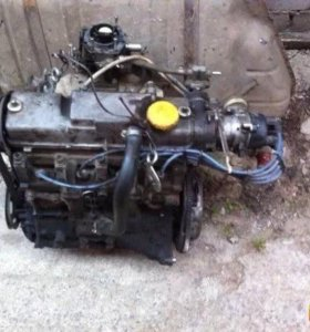 Двигатель карбюратор 2109