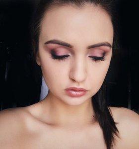 Оформление бровей, макияж