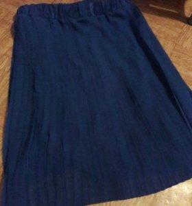 флисированная юбка