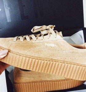 Puma creepers by Rihanna
