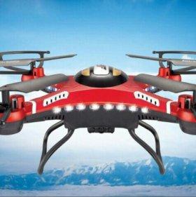 радиоуправляемый квадрокоптер-дрон