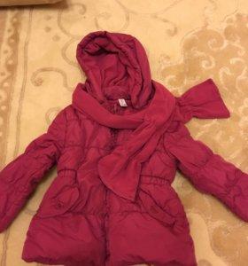 Куртка детская на 2 года