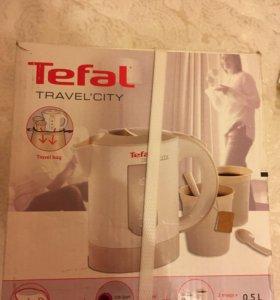 Дорожный чайник Tefal Travel-o-city