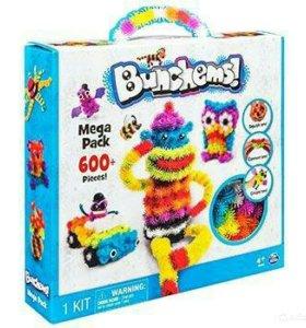 🙃💥💣Конструктор-липучка Bunchems Mega Pack 600+
