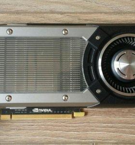Игровая видеокарта Asus GTX Titan 6GB