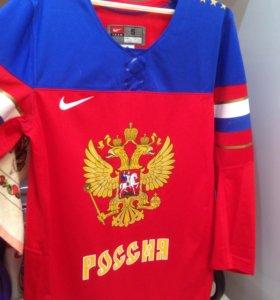 Хоккейная форма сборной России футболка
