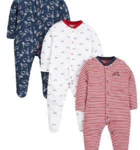 Новые комбинезоны-слипы Mothercare 18-24 месяцев