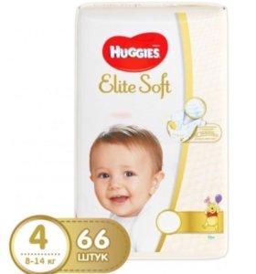 Памперсы подгузники Huggies Elite Soft