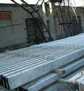 Столб железо бетонный