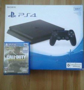 Sony 4 + 8 игр