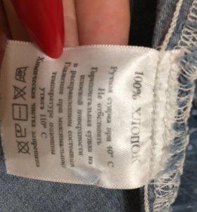 Рубашка джинсовая