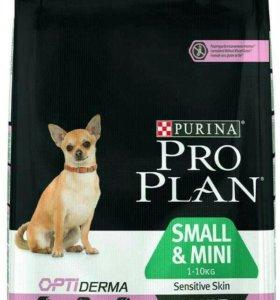 Корм Pro Plan для собак мелких пород 7 кг.