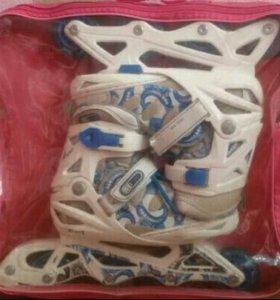 Роликовые коньки+защита и сумка!!!