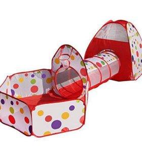 Детская игровая палатка-комплекс