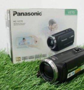 Видеокамера Panasonic HC-V270 (2.2Мп/FullHD/50x)