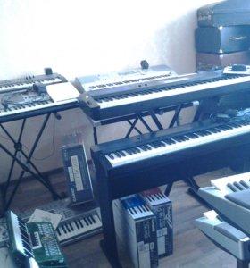 Синтезатор, электронное пианино casio,yamaha